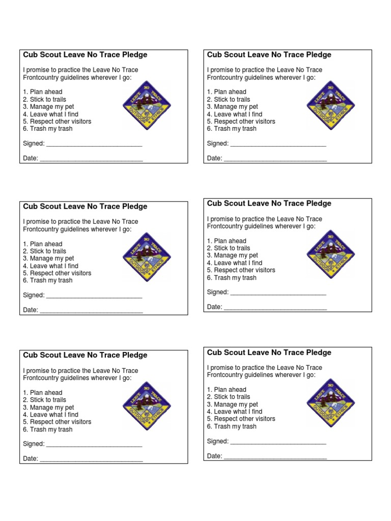 This is a graphic of Crazy Leave No Trace Printable