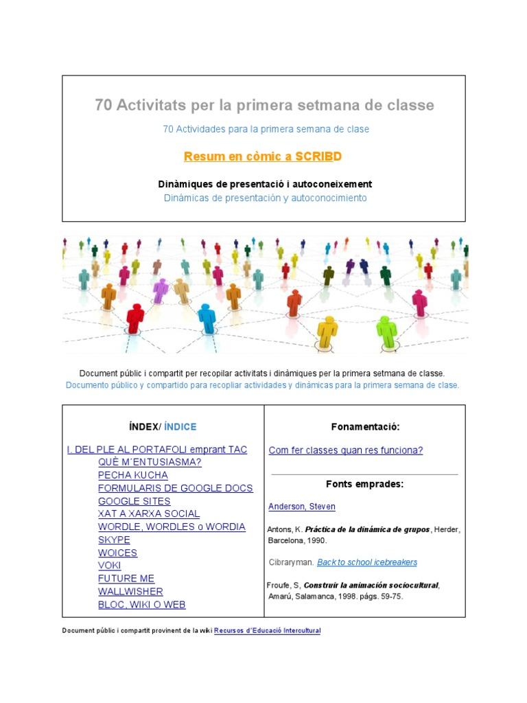 Dinàmiques presentació Activ 1r dia de classe (1)