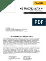 Fluke 62Max Users Manual