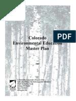 colorado environmental education master plan