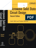 Microwave Solid State Circuit Design by Bahl