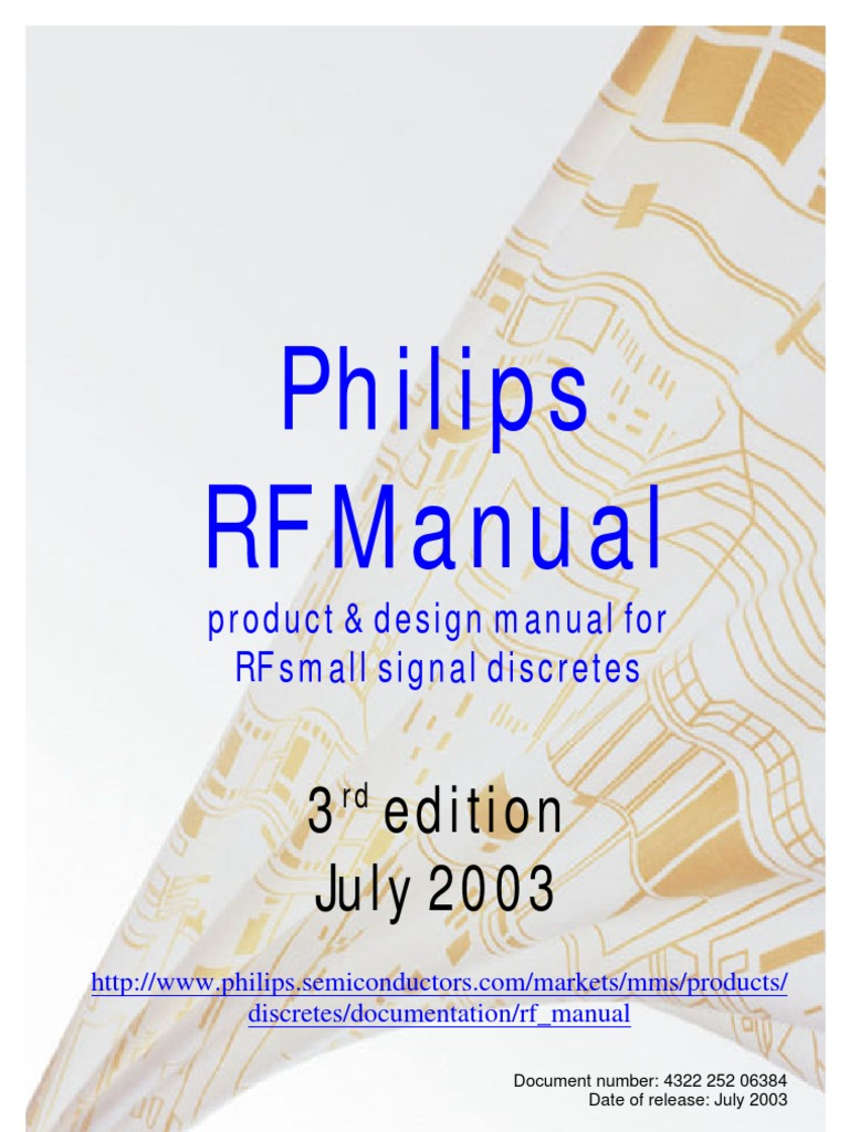 Philips Rf Manual 3rd Edition Antenna Radio Inductor The Mixer Circuit Of Frequency Dual Npn