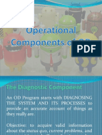 Operational Components of OD