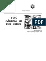 1000-Maximas de Don Bosco