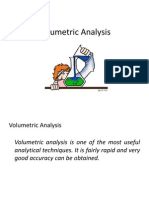 volumetric analysis