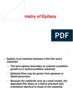 III. Epitaxial Chemistry