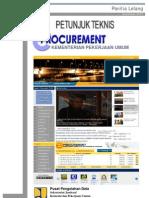 Petunjuk Teknis Panitia Full e-Procurement