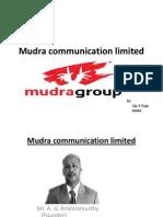 mudra communication