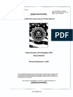 FBI Confidential Human Source Policy Manual
