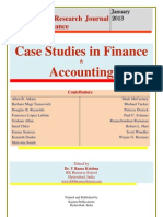 Case Studies in Finance and Accounting
