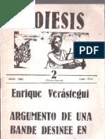 Argumento de una Bande Desinee en Cristal Líquido - Enrique Verástegui.