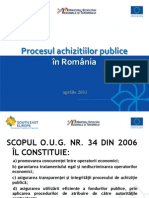 Prezentare achizitii publice