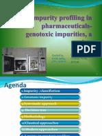 genotoxic impurity profiling - review