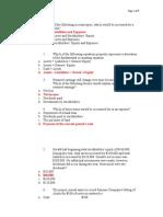 Accountancy Test