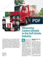 Measuring CO2 in the soft drinks Industry