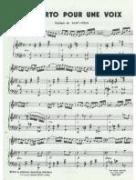 Saint Preux Concerto Pour Une Voix
