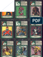 Marvel Super Heroes Adventure Game (SAGA) RPG - Fate Deck