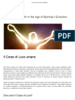 Il Corpo di Luce umano