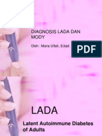 Diagnosis Lada Dan Mody