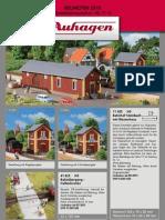 Auhagen - Neuheiten 2013