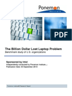 The Billion Dollar Lost Laptop Study