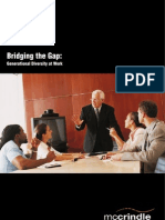 Bridging the Gap - Generational Diversity at Work