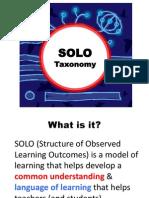 Solo Taxonomy Explained