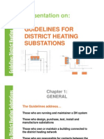 District Heating Substation Guidelines Presentation