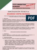 Especializacion incendios2011
