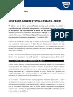 COMUNICADO DE IMPRENSA | NOVO DACIA SANDERO STEPWAY