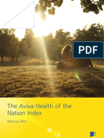 The Aviva Health of the Nation Index - February 2013