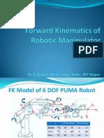 Direct Kinematics of Robotic Manipulator