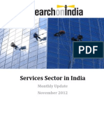 Services Sector in India Monthly Update November 2012