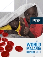 WHO article on Financing malaria control