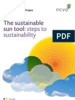 Steps to Sustainability