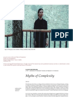 Myths of Complexity (pre-print version)