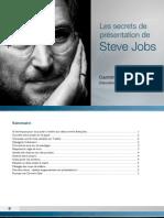 Les Secrets de Presentation de Steve Jobs