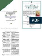Sunday Matins Hymns - Tone 3 - 10 February 2013 - St Charalambos