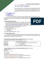 Compressors 2013 - Traffic Information
