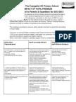 pupil premium report to parents 2012 to 2013