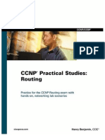 CCNP Practical Studies Routing