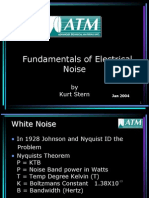 Fundamentals Electrical Noise