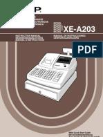 SHARP XE-A203