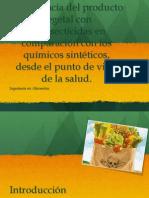Importancia Producto Vegetal