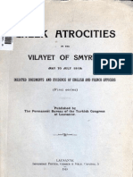 Greek atrocities in the Vilayet of Smyrna Asia Minor