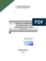 Module Gestion Classe