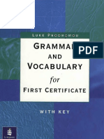 GRAMMER AND VOCABULARY