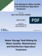 Water Storage Tank Mixing