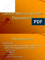 pharmacology CNS depressant