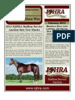 IQHRA Newsletter - February 2013